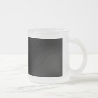 I love Cottage Cheese Frosted Glass Mug