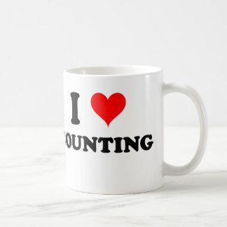 I Love Counting Coffee Mug