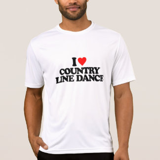 I LOVE COUNTRY LINE DANCE T-Shirt