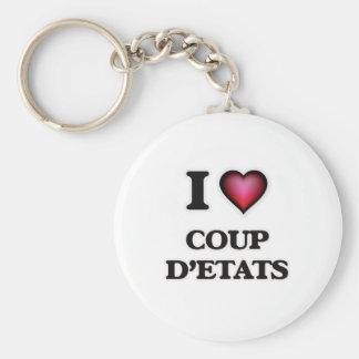 I love Coup D'Etats Keychain