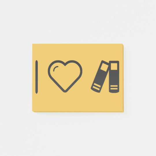 I Love Couple Gadgets Post-it Notes
