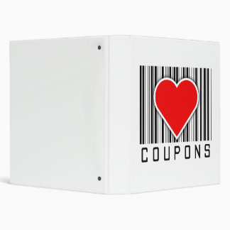 I Love Coupons 3 Ring Binders