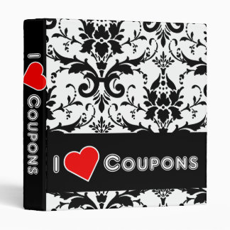 I Love Coupons Binder