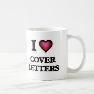 I love Cover Letters Coffee Mug
