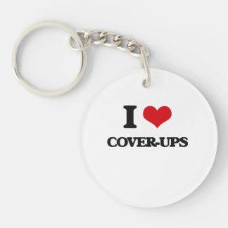 I love Cover-Ups Acrylic Key Chains