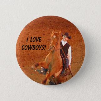 I LOVE COWBOYS! - button