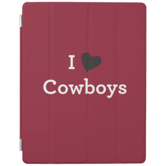 I Love Cowboys iPad Cover