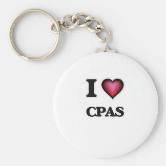 I love Cpas Keychain