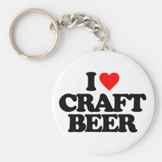 I LOVE CRAFT BEER KEY CHAINS