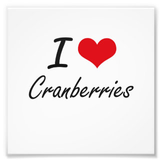I love Cranberries Photo