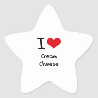 I love Cream Cheese Stickers