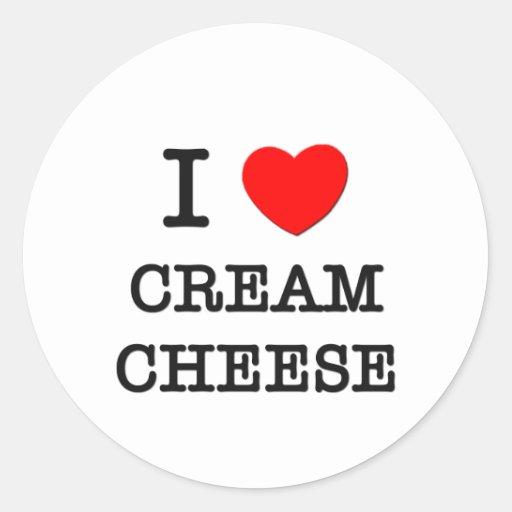 I Love Cream Cheese Sticker