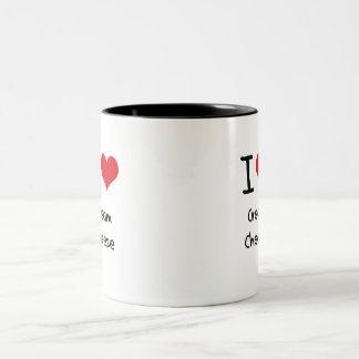 I love Cream Cheese Two-Tone Mug