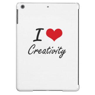 I love Creativity iPad Air Cases
