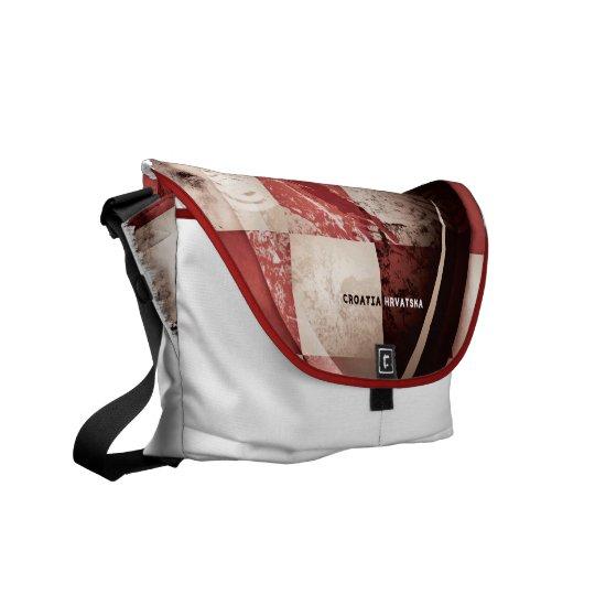 I love Croatia Messenger Bag