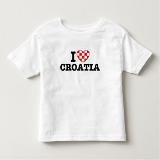 I Love Croatia Toddler T-shirt