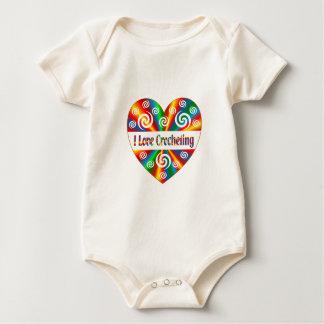 I Love Crocheting Baby Bodysuit