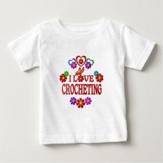 I Love Crocheting Baby T-Shirt