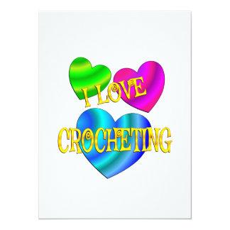 I Love Crocheting Card