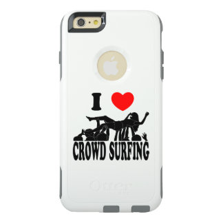 I Love Crowd Surfing (female) (blk) OtterBox iPhone 6/6s Plus Case
