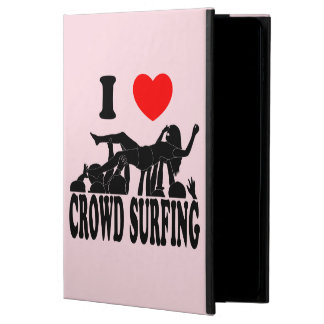 I Love Crowd Surfing (female) (blk) Powis iPad Air 2 Case