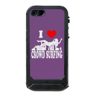 I Love Crowd Surfing (female) (wht) Incipio ATLAS ID™ iPhone 5 Case
