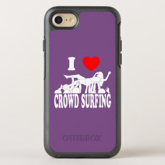 I Love Crowd Surfing (female) (wht) OtterBox Symmetry iPhone 8/7 Case