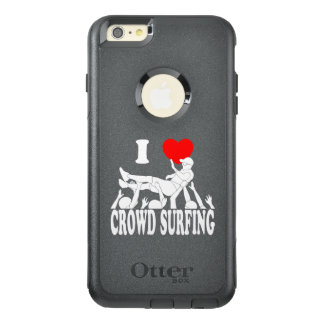I Love Crowd Surfing (male) (wht) OtterBox iPhone 6/6s Plus Case