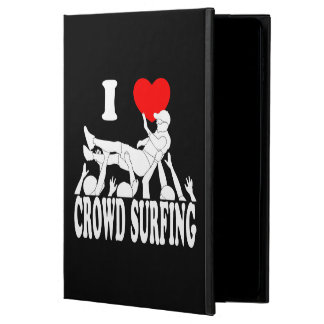 I Love Crowd Surfing (male) (wht) Powis iPad Air 2 Case