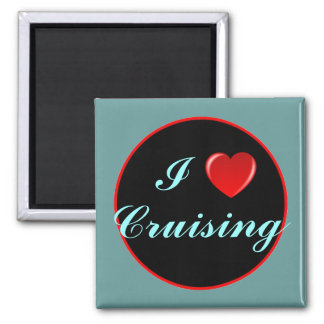 I Love Cruising 03 Magnet