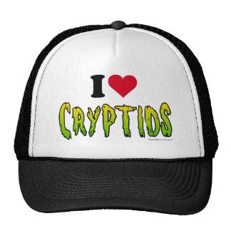 I Love Cryptids Trucker Hat