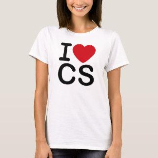 I Love CS - ladies Tee