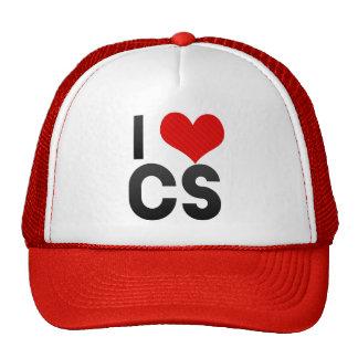 I Love CS Trucker Hats