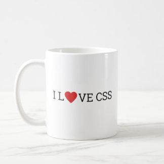 I Love CSS Mug