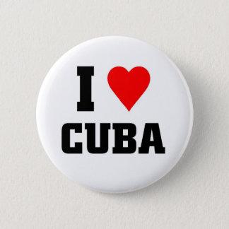 I love Cuba 2 Inch Round Button