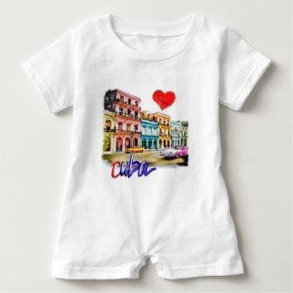 I love Cuba Baby Romper