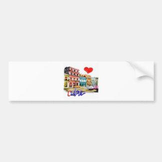 I love Cuba Bumper Sticker