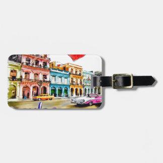 I love Cuba Luggage Tag