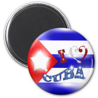 I love Cuba Magnet