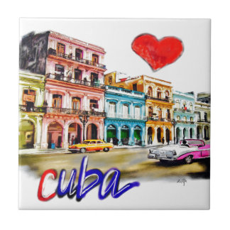 I love Cuba Tile