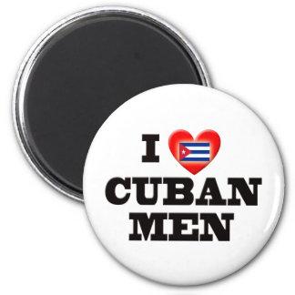 I Love Cuban Men Magnet