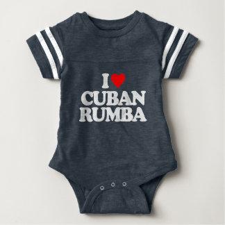 I LOVE CUBAN RUMBA BABY BODYSUIT
