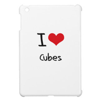 I love Cubes iPad Mini Cover
