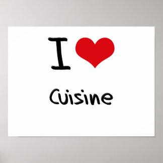 I love Cuisine Poster