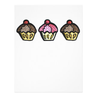 I love cupcakes flyer design