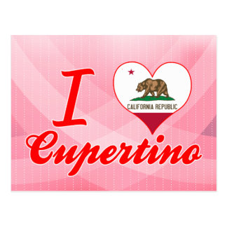 I Love Cupertino, California Postcard