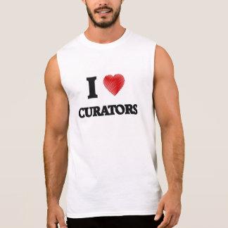 I love Curators Sleeveless Shirt