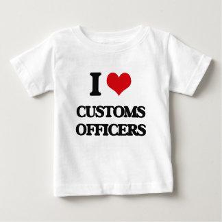I love Customs Officers Tee Shirts