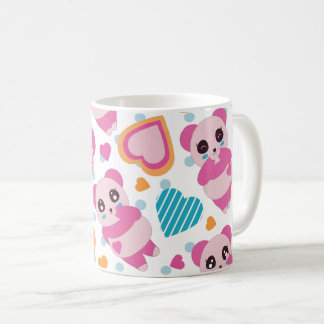 I Love Cute Pandas Coffee Mug