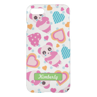 I Love Cute Pandas iPhone 8/7 Case
